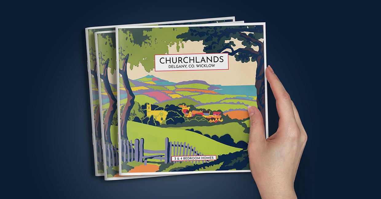 Churchlands Delgany brochure cover