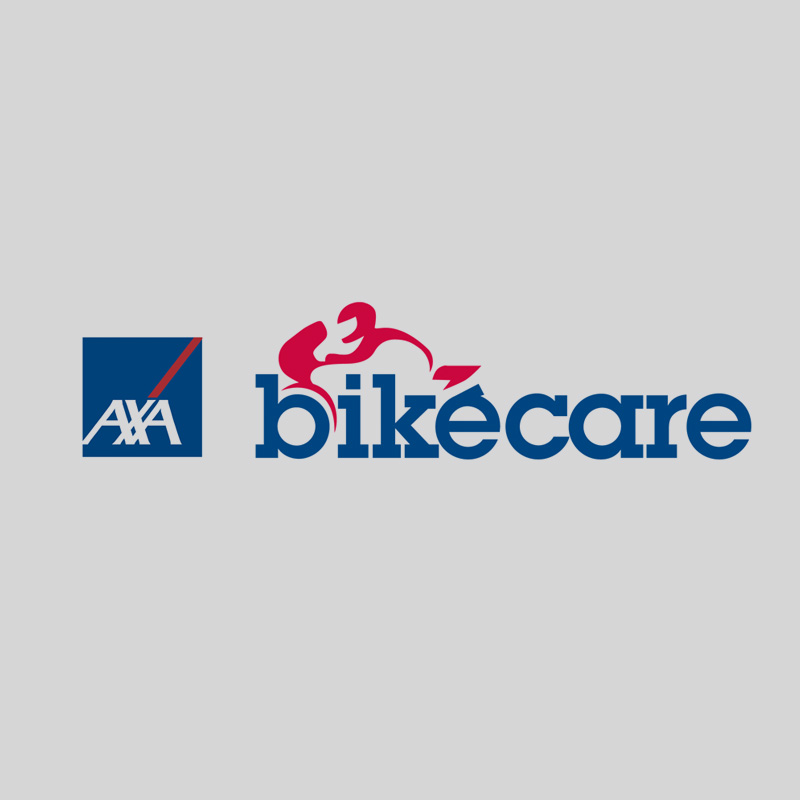 Logo design of AXA bike care product