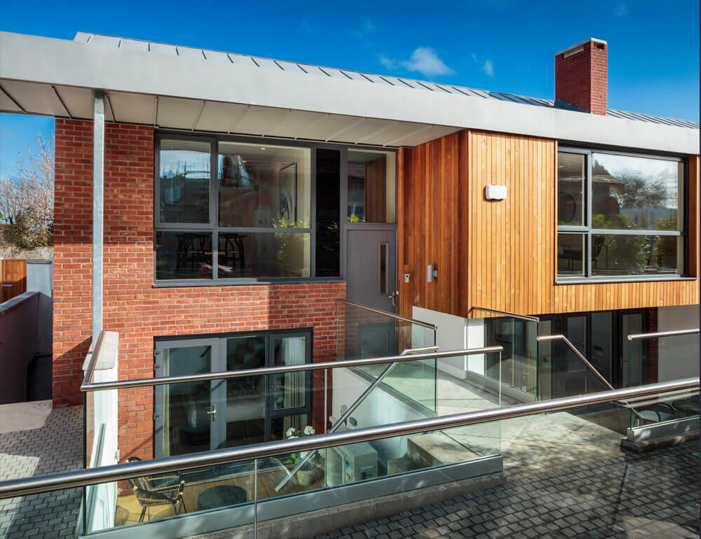 St. Paul's Square Glenageary House by Avalanche Design