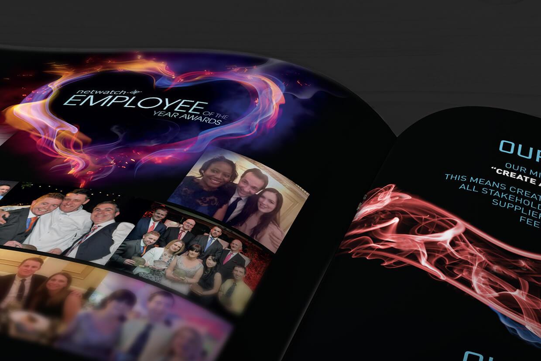 Netwatch Yearbook design by Avalanche Design