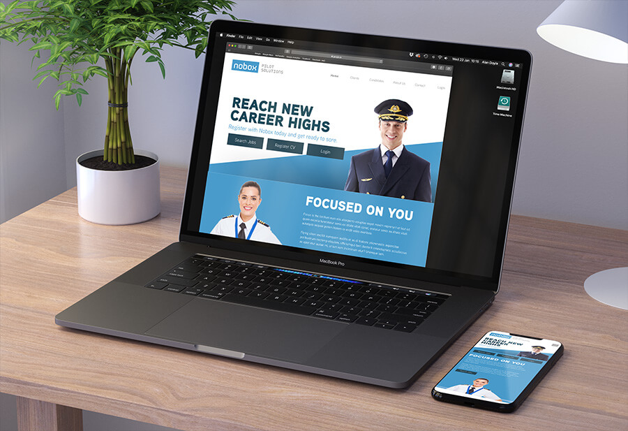 Website design and development  by Avalanche Design in Dublin