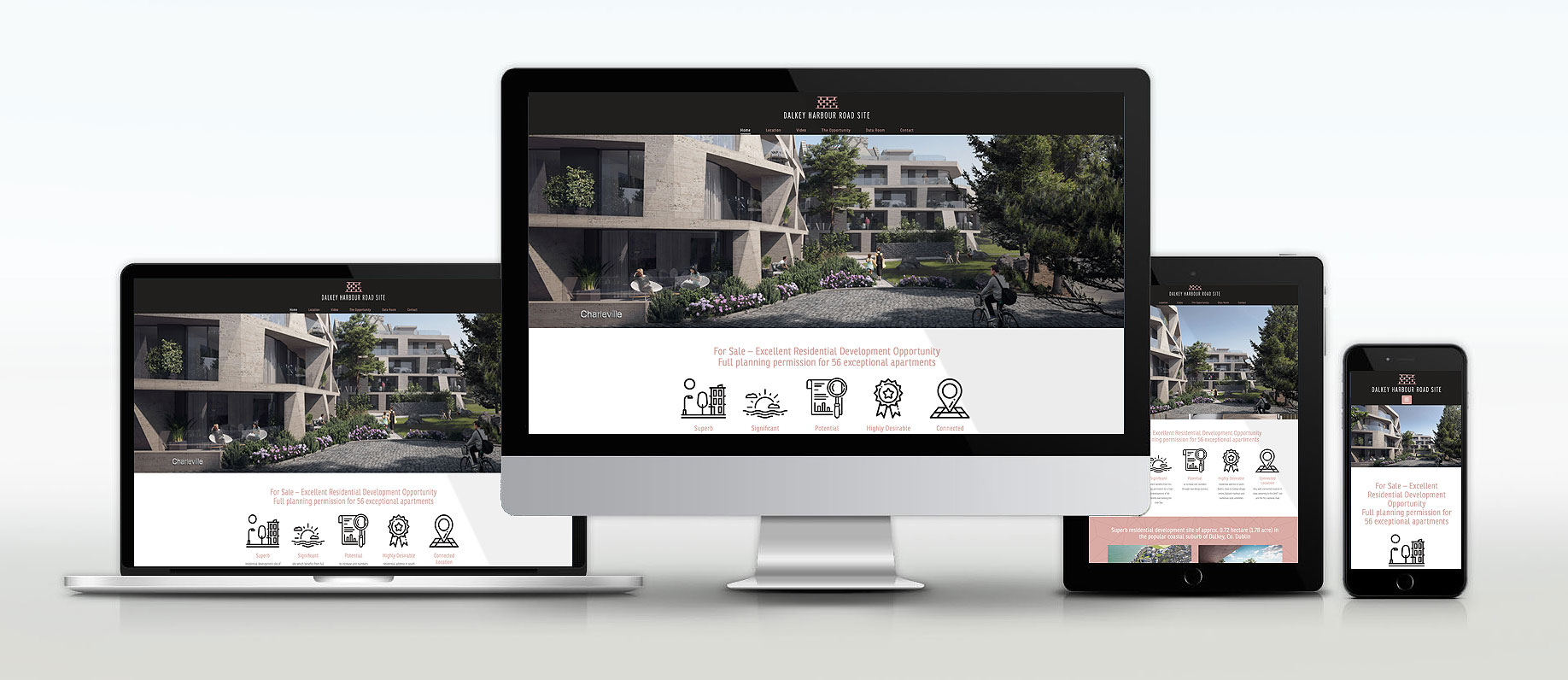 Commercial property Website by Avalanche Design