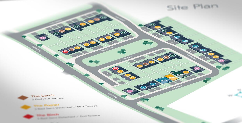 Glenveagh Silver Banks site illustration by Avalanche Design in Dublin