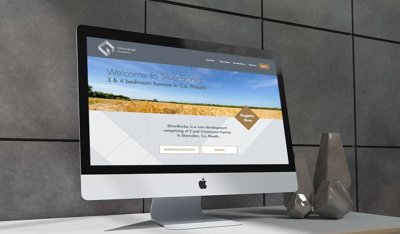 Glenveagh Silver Banks website design by Avalanche Design in Dublin