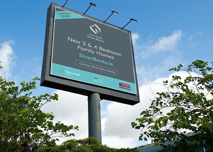 Glenveagh Silver Banks signage