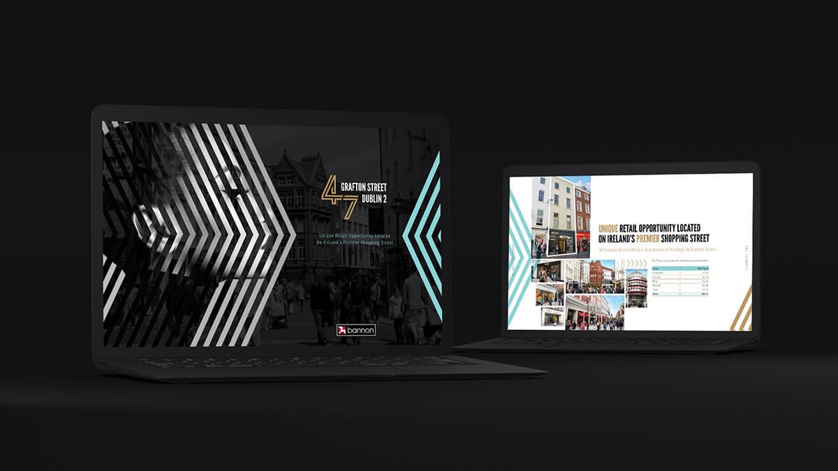 Retail marketing creative brochures
