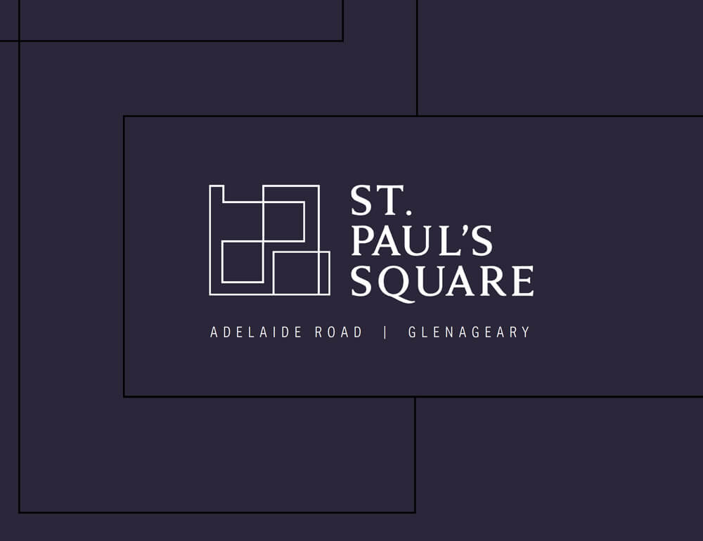Logo design by Avalanche Design - St. Paul's Square Glenageary