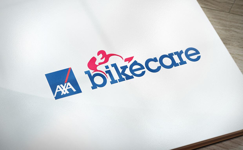 AXA Bikecare logo design by Avalanche Design Dublin