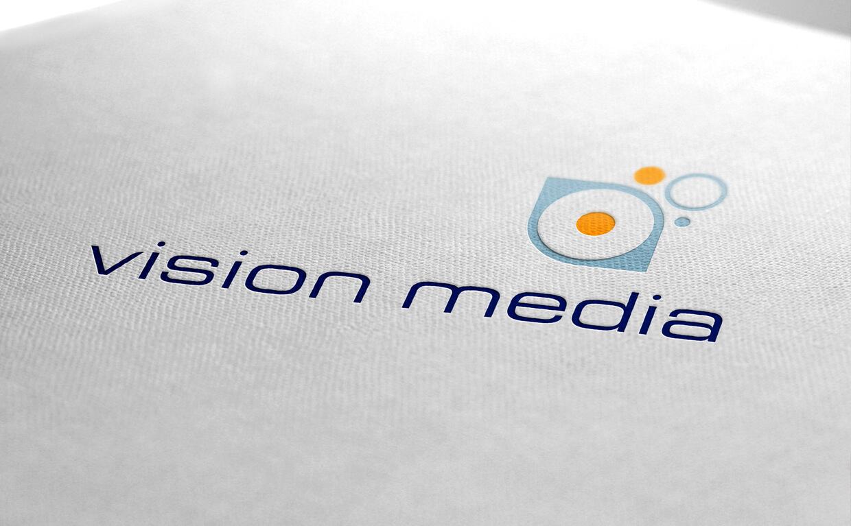 Vision Media brand development by Avalanche Design Dublin